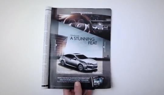 lexus-publicidad-coche-ipad-revista
