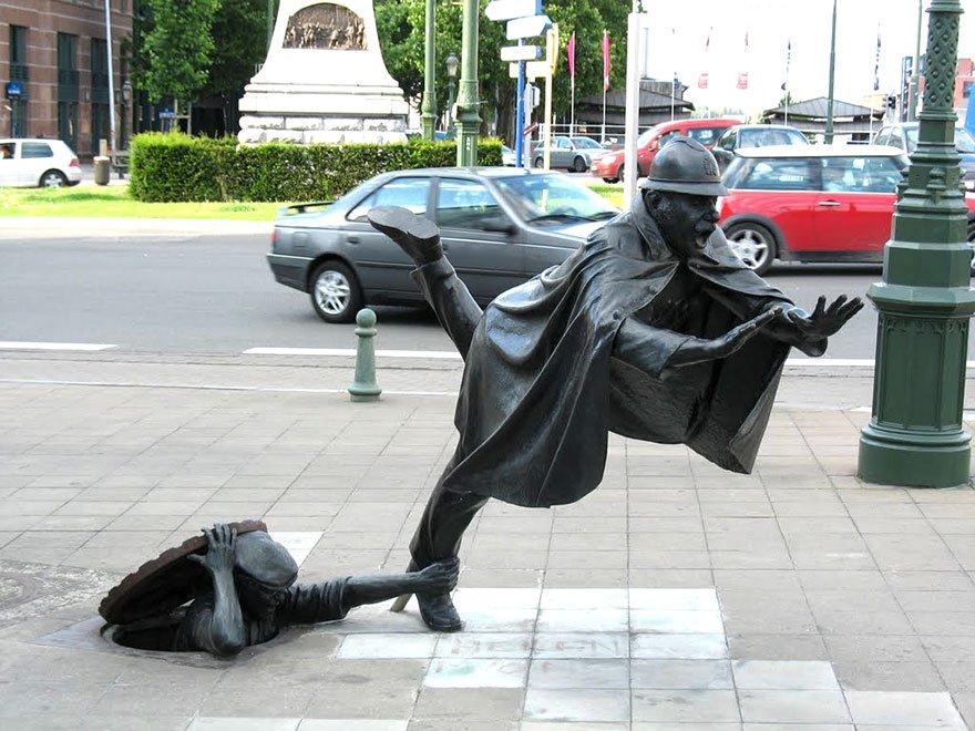 Estatuas Creativas 12
