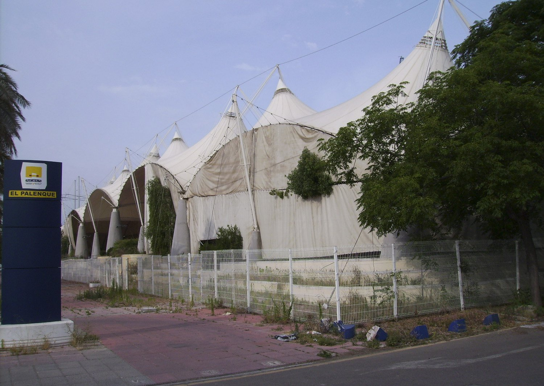 Expo92 abandonada 1