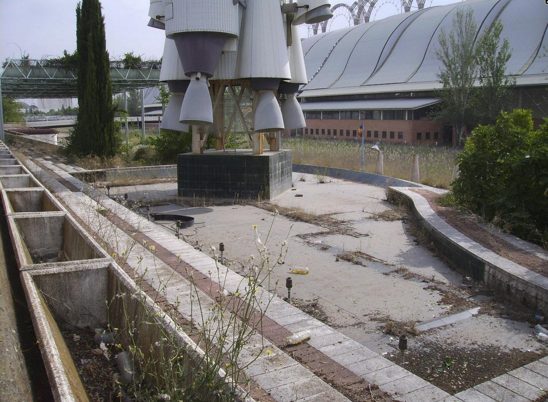Expo92 abandonada 8