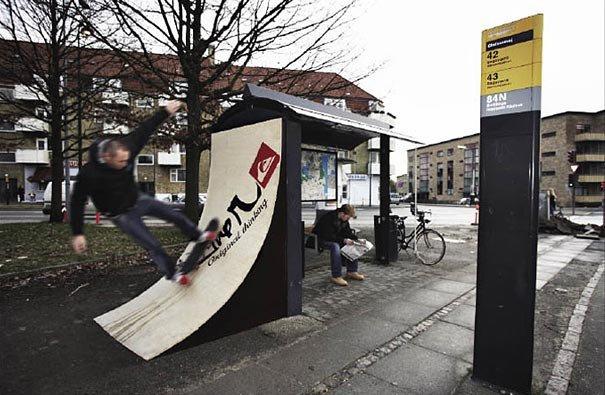 Paradas de autobus 14,1