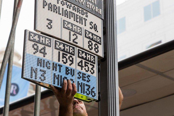 Paradas de autobus 3,3