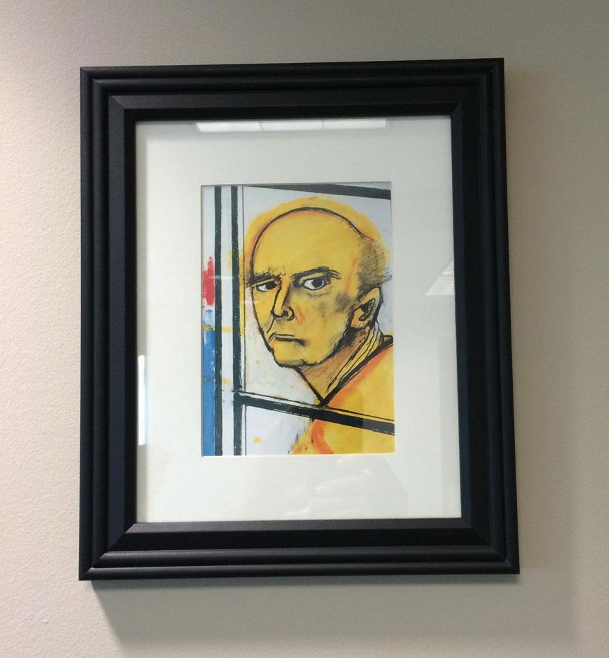 autoretrato alzheimer 1996-1