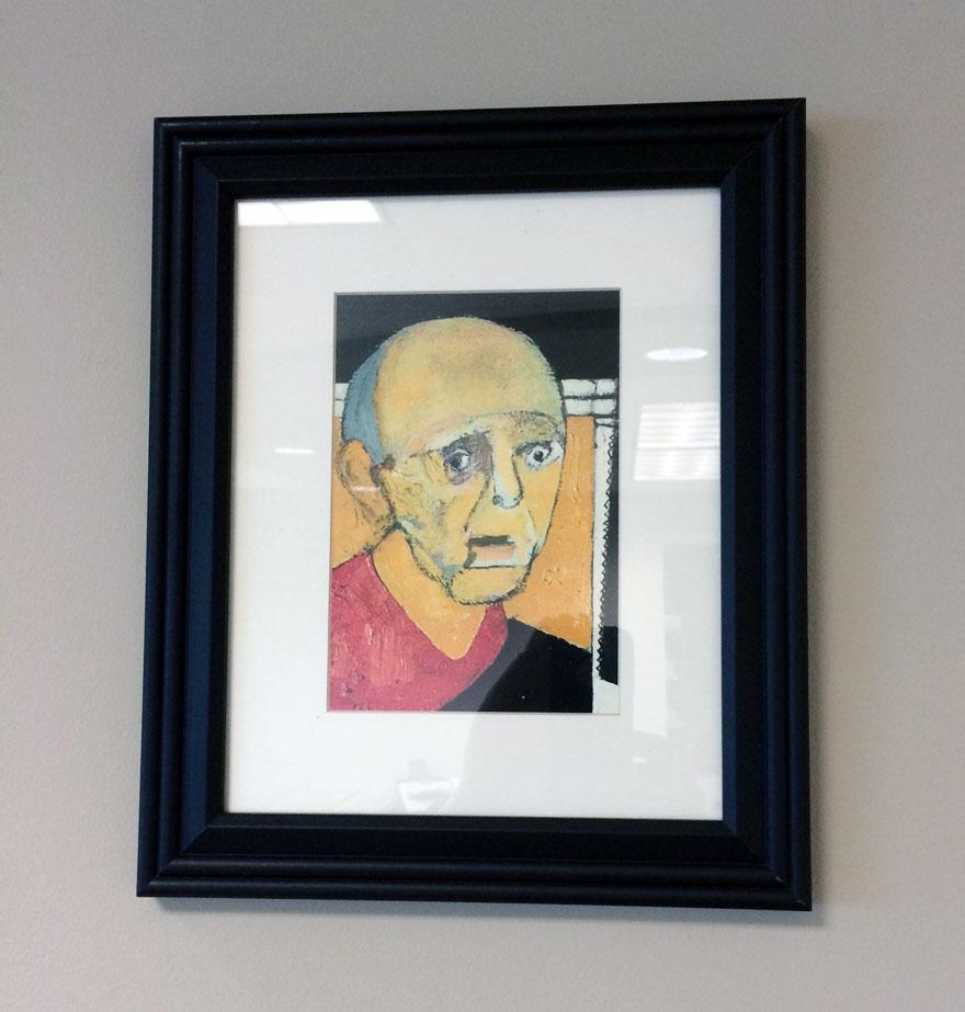 autoretrato alzheimer 1997-1