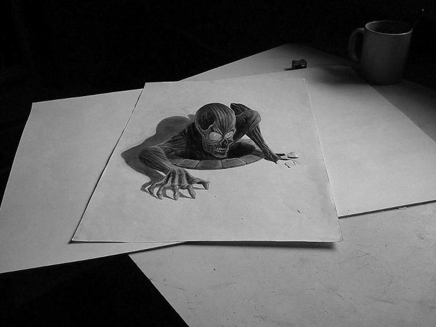33 Increibles Dibujos Pintados A Mano Que Parecen Reales La Voz