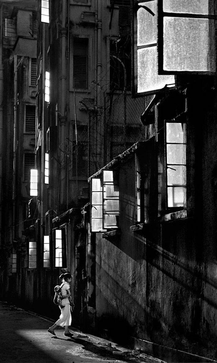 Hong Kong 1950 fotografia callejera 1