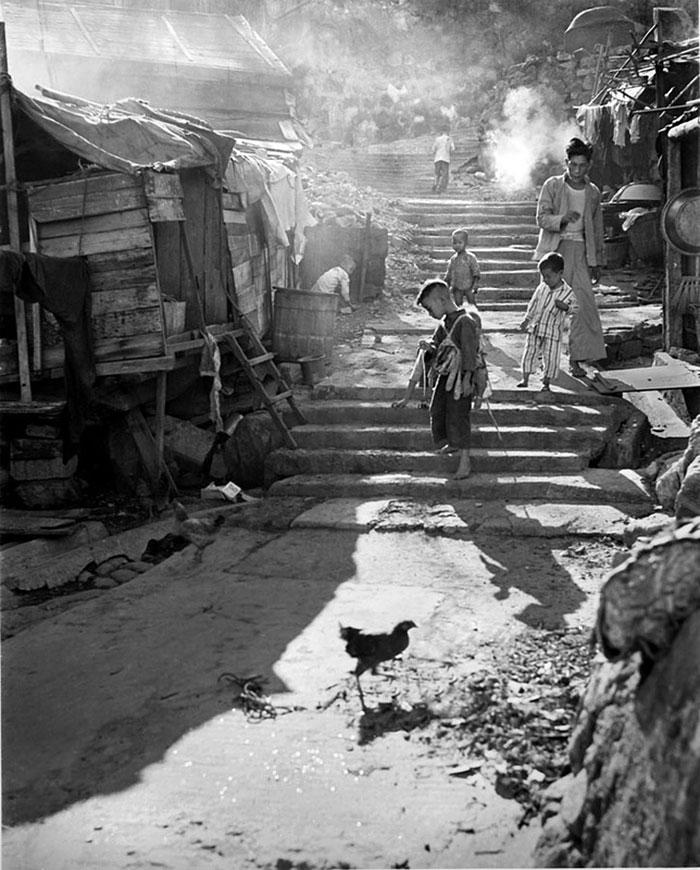 Hong Kong 1950 fotografia callejera 17