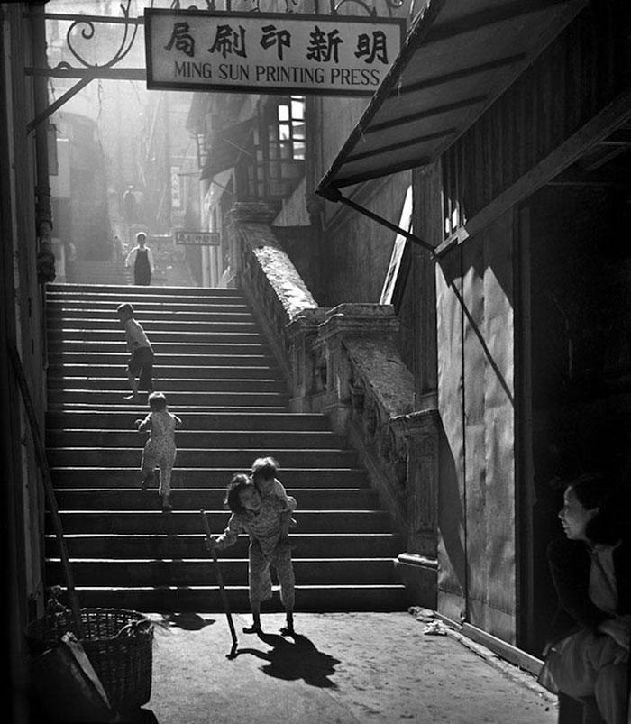 Hong Kong 1950 fotografia callejera 4