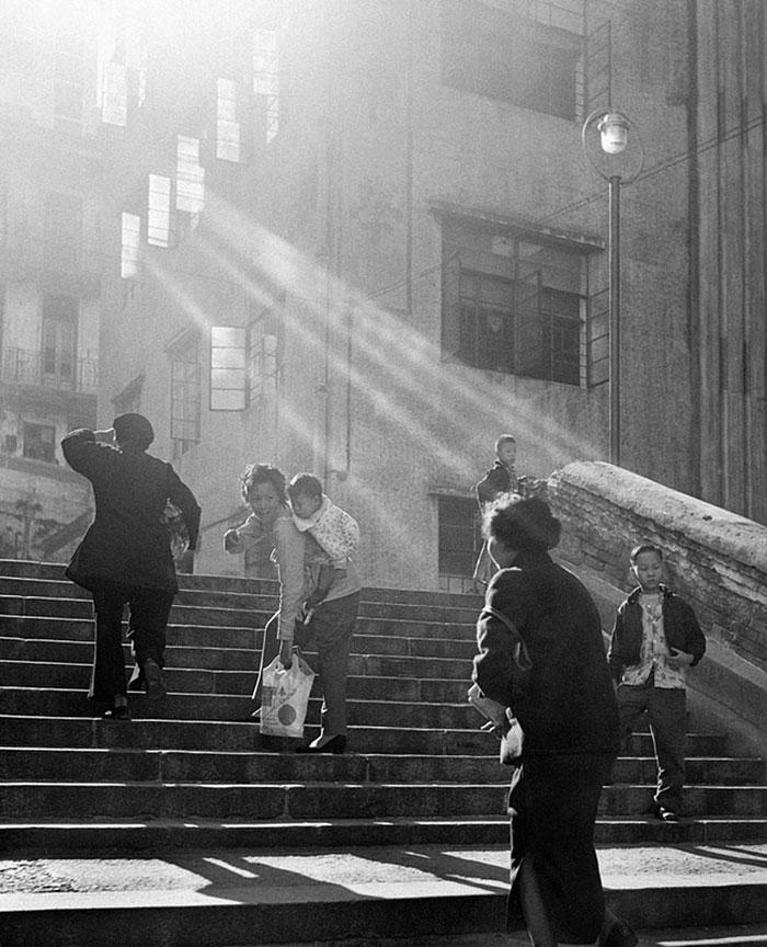 Hong Kong 1950 fotografia callejera 9