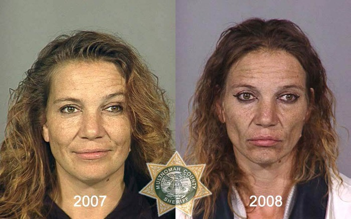 antes y despues drogras9
