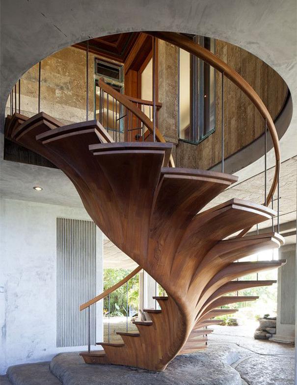 22 escaleras originales por las que te gustará subir alguna vez ...
