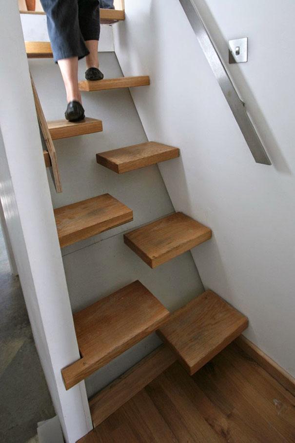22 escaleras originales por las que te gustar subir for Como hacer gradas