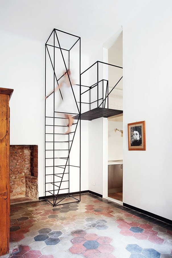 22 escaleras originales por las que te gustará subir alguna vez - La ...