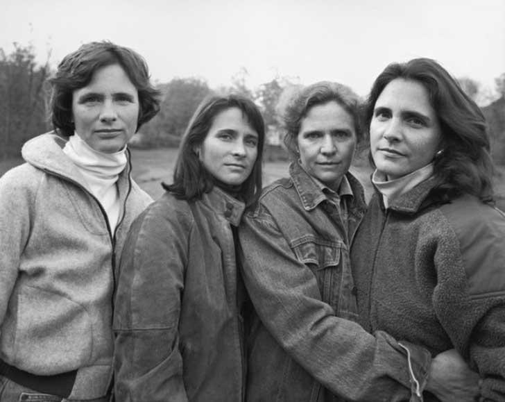 1990fotografia hermanas