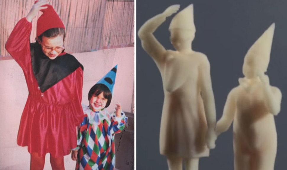 Esculturas 3d a partir de viejas fotos 2