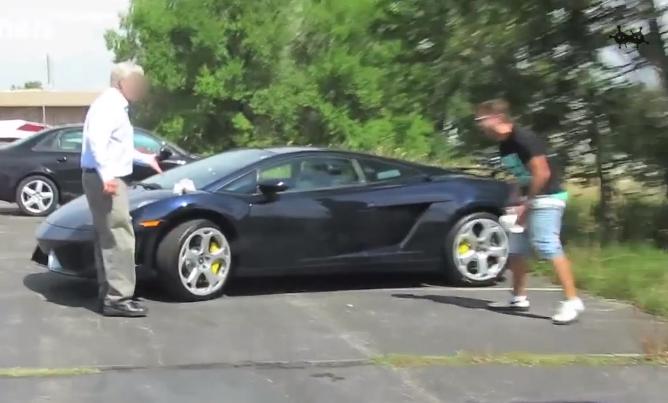 Lamborghini-taser-caca