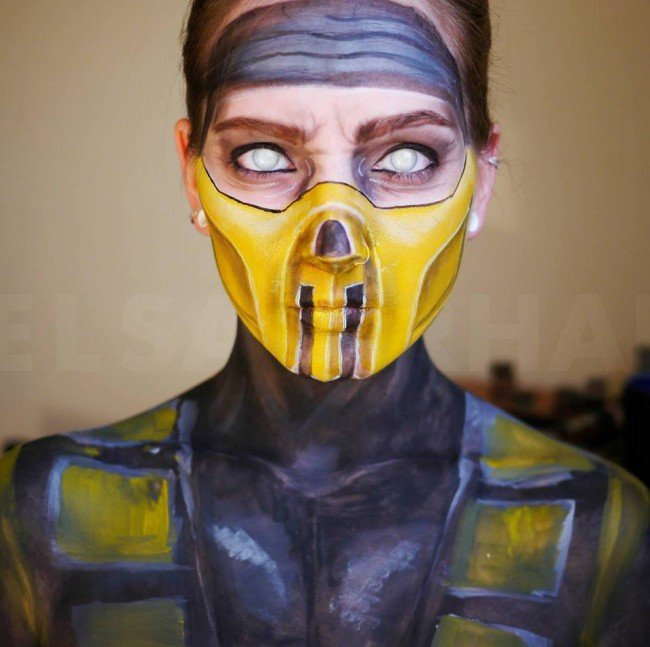 Mujer Maquillaje 7