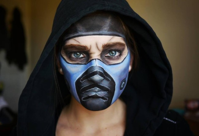 Mujer Maquillaje 8