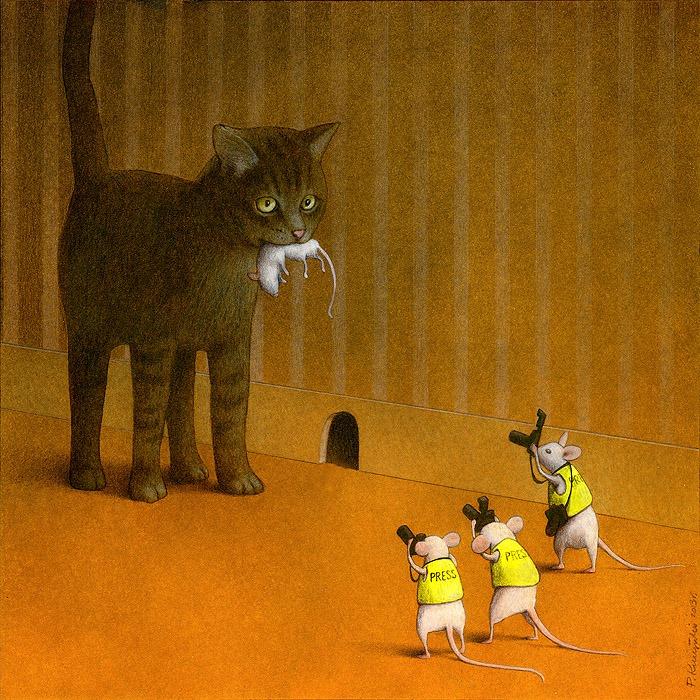 37 dibujos de crítica social de uno de los mejores artistas de pintura satírica Pawel-Kuczynski-10