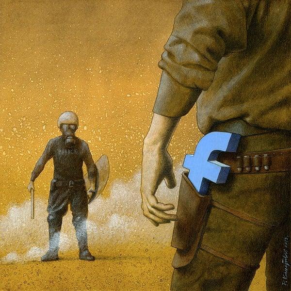 37 dibujos de crítica social de uno de los mejores artistas de pintura satírica Pawel-Kuczynski-13