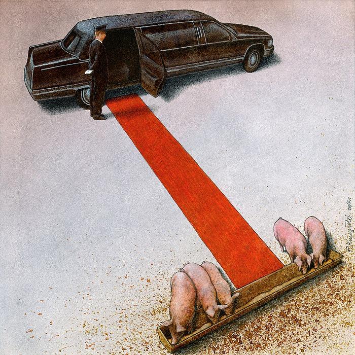 37 dibujos de crítica social de uno de los mejores artistas de pintura satírica Pawel-Kuczynski-14