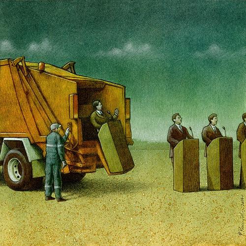37 dibujos de crítica social de uno de los mejores artistas de pintura satírica Pawel-Kuczynski-15