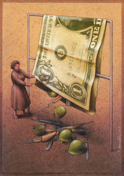 37 dibujos de crítica social de uno de los mejores artistas de pintura satírica Pawel-Kuczynski-16