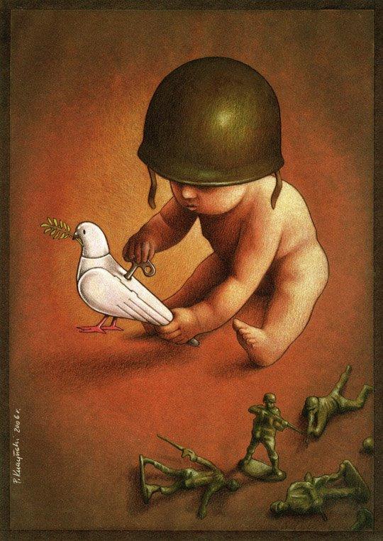 37 dibujos de crítica social de uno de los mejores artistas de pintura satírica Pawel-Kuczynski-20