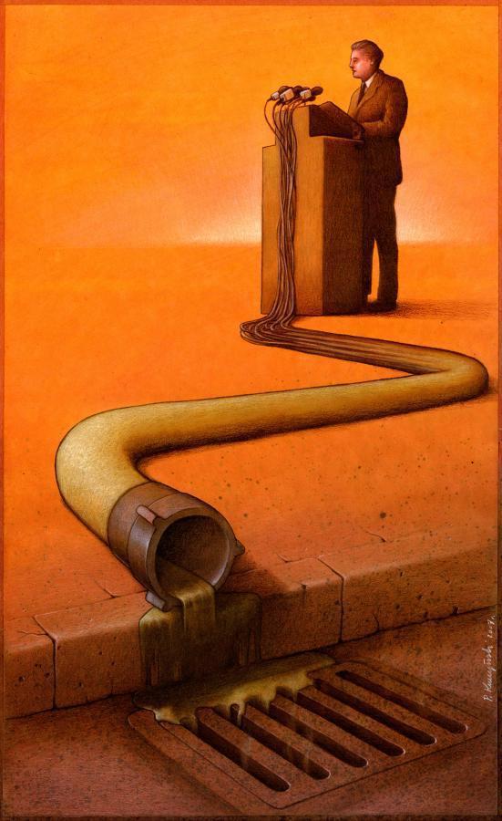 37 dibujos de crítica social de uno de los mejores artistas de pintura satírica Pawel-Kuczynski-21