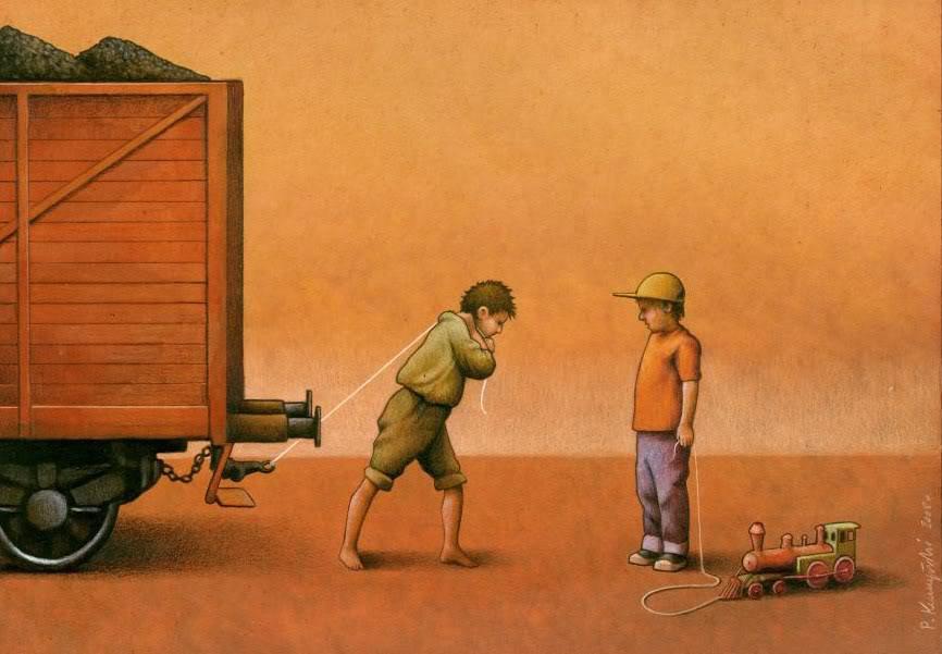 37 dibujos de crítica social de uno de los mejores artistas de pintura satírica Pawel-Kuczynski-22