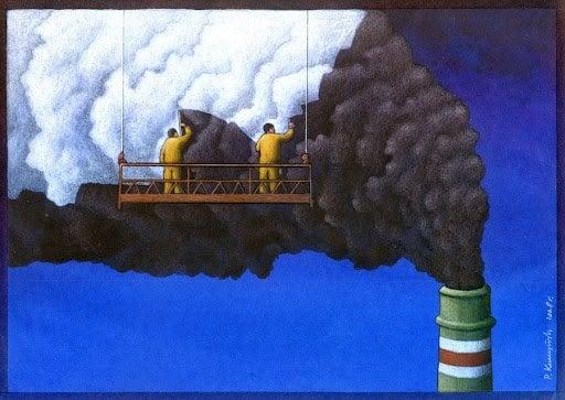 37 dibujos de crítica social de uno de los mejores artistas de pintura satírica Pawel-Kuczynski-23