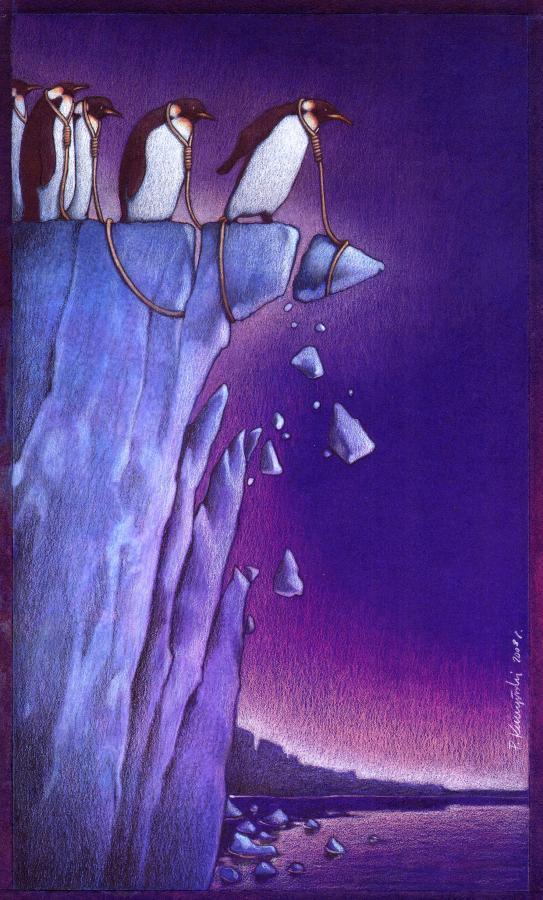 37 dibujos de crítica social de uno de los mejores artistas de pintura satírica Pawel-Kuczynski-25