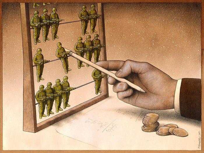 37 dibujos de crítica social de uno de los mejores artistas de pintura satírica Pawel-Kuczynski-33
