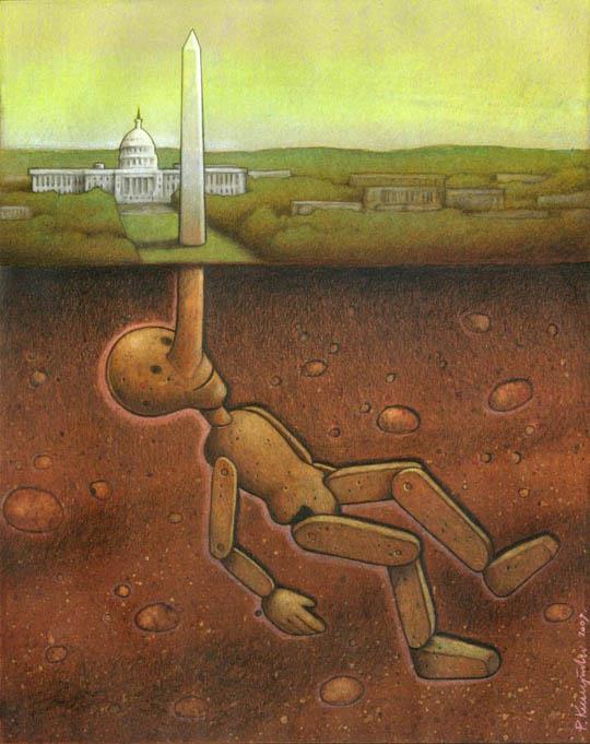37 dibujos de crítica social de uno de los mejores artistas de pintura satírica Pawel-Kuczynski-34