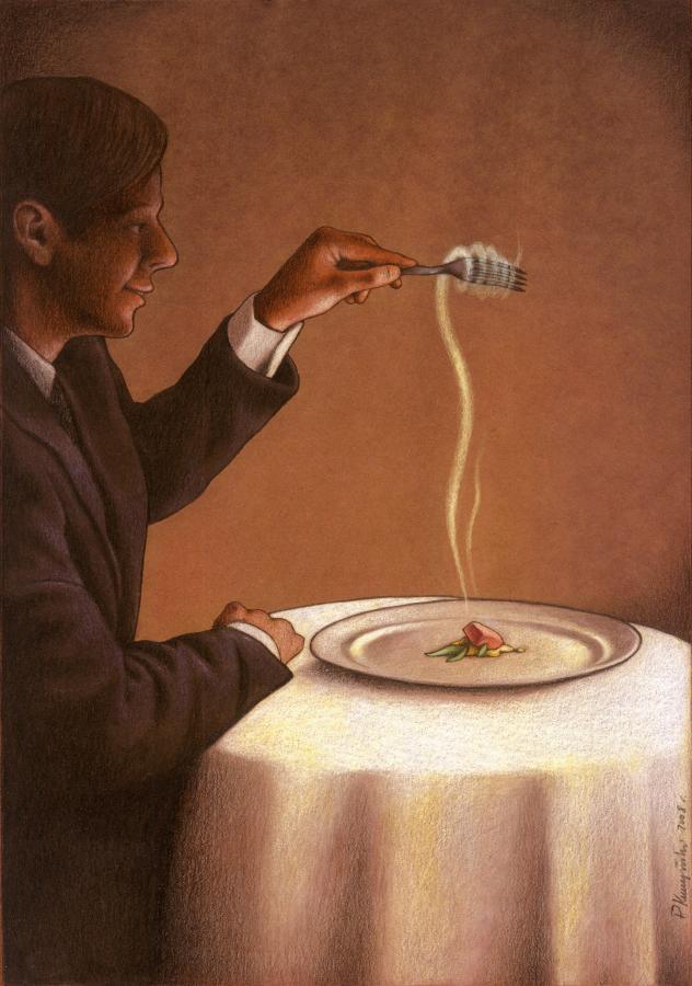 37 dibujos de crítica social de uno de los mejores artistas de pintura satírica Pawel-Kuczynski-35