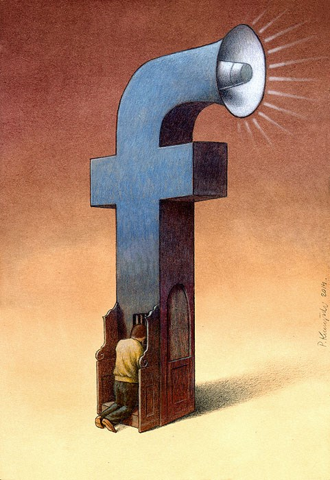 37 dibujos de crítica social de uno de los mejores artistas de pintura satírica Pawel-Kuczynski-7
