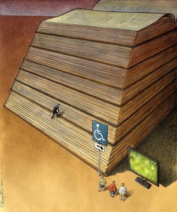 37 dibujos de crítica social de uno de los mejores artistas de pintura satírica Pawel-Kuczynski-8