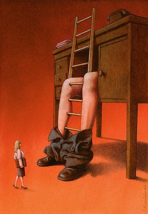 37 dibujos de crítica social de uno de los mejores artistas de pintura satírica Pawel-Kuczynski-9
