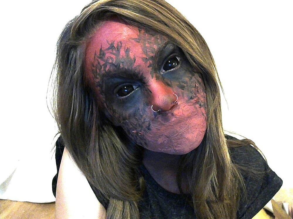 espectaculares maquillajes haloween 13