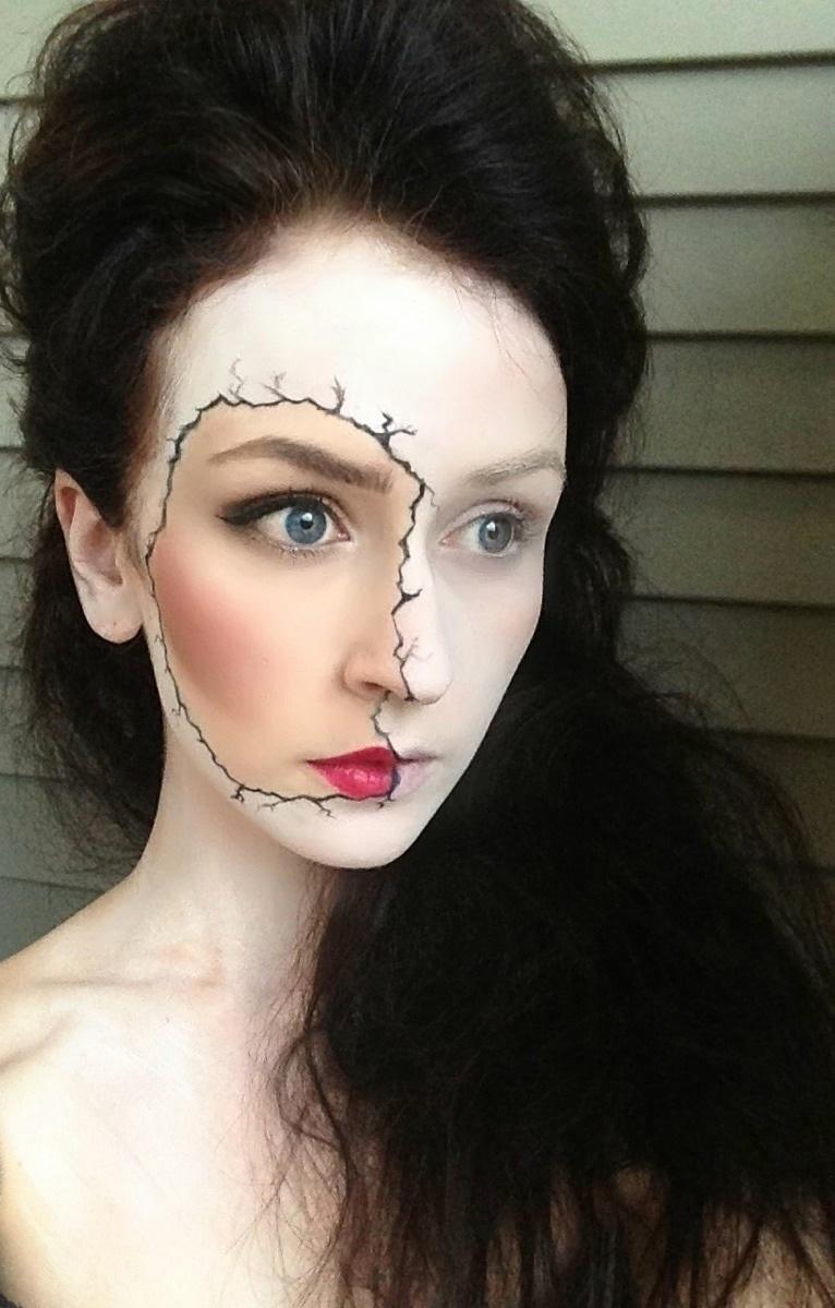espectaculares maquillajes haloween 14