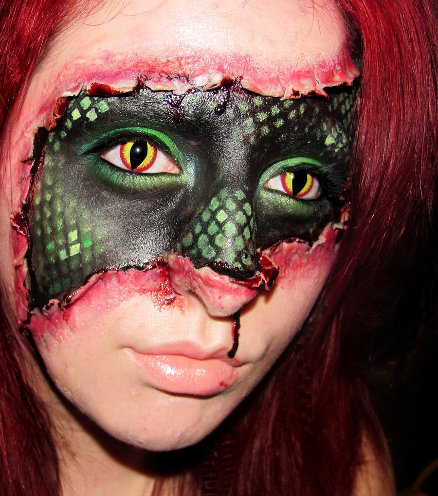 espectaculares maquillajes haloween 15