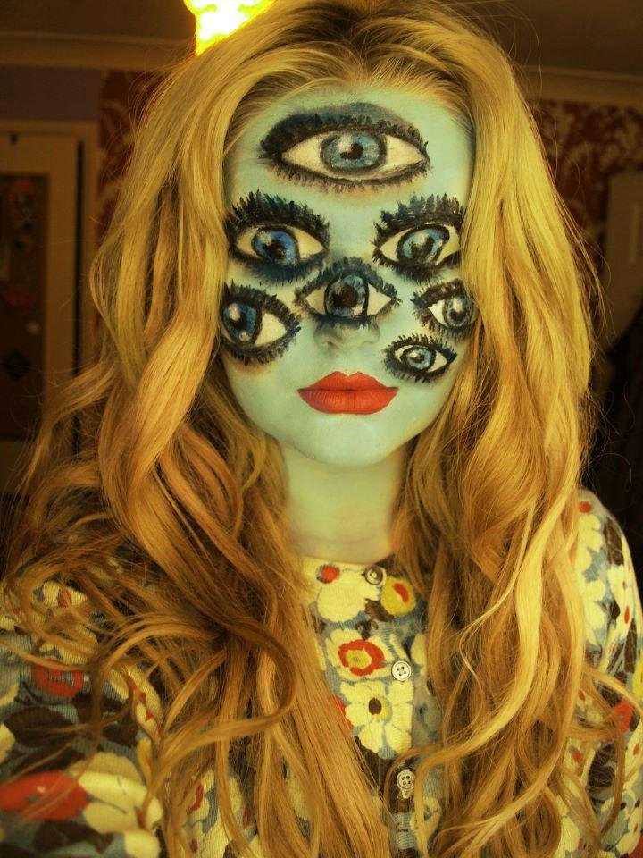 espectaculares maquillajes haloween 2