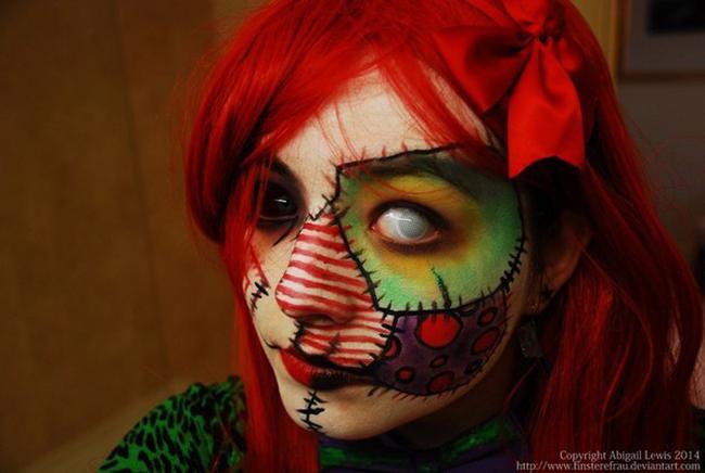 espectaculares maquillajes haloween 20