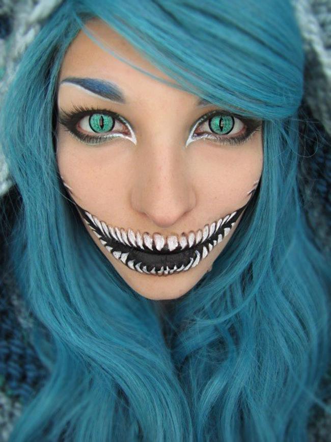 espectaculares maquillajes haloween 4