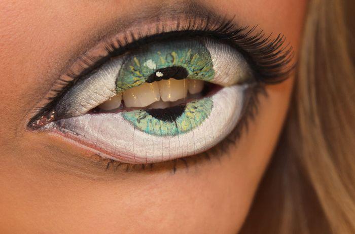 espectaculares maquillajes haloween 7