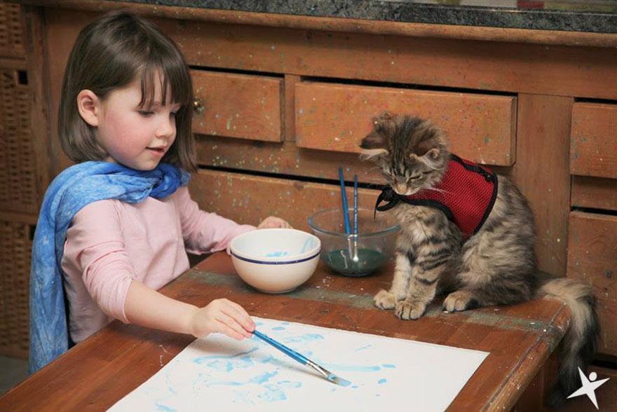 gatito niña autista 1