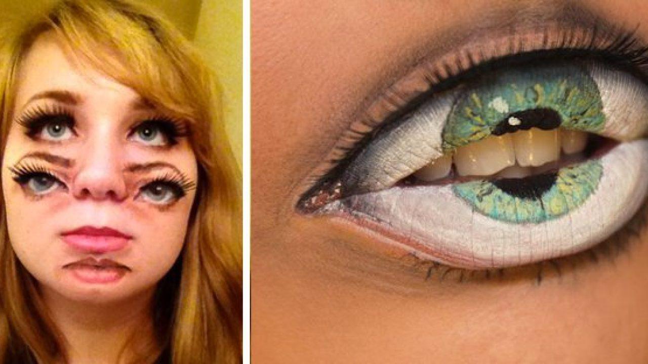 22 Maquillajes Realmente Aterradores Para Halloween O Carnaval