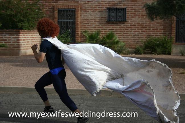 23 usos para un vestido novia 25