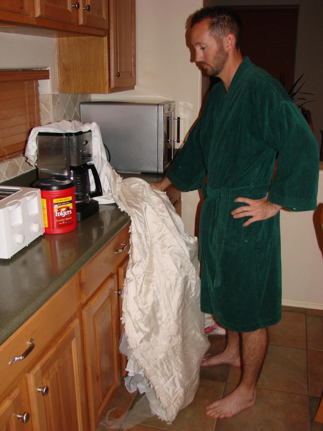 23 usos para un vestido novia 8