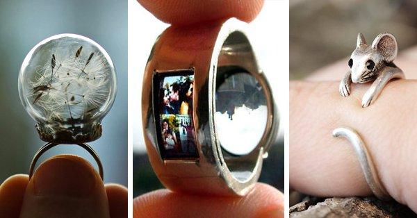 9728fa1bc8a5 Los 90 anillos más creativos que hemos visto nunca - La voz del muro